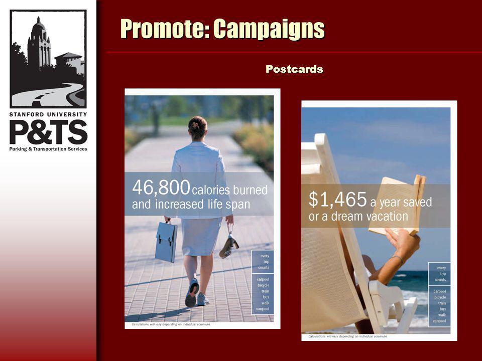 Promote: Campaigns Postcards Postcards