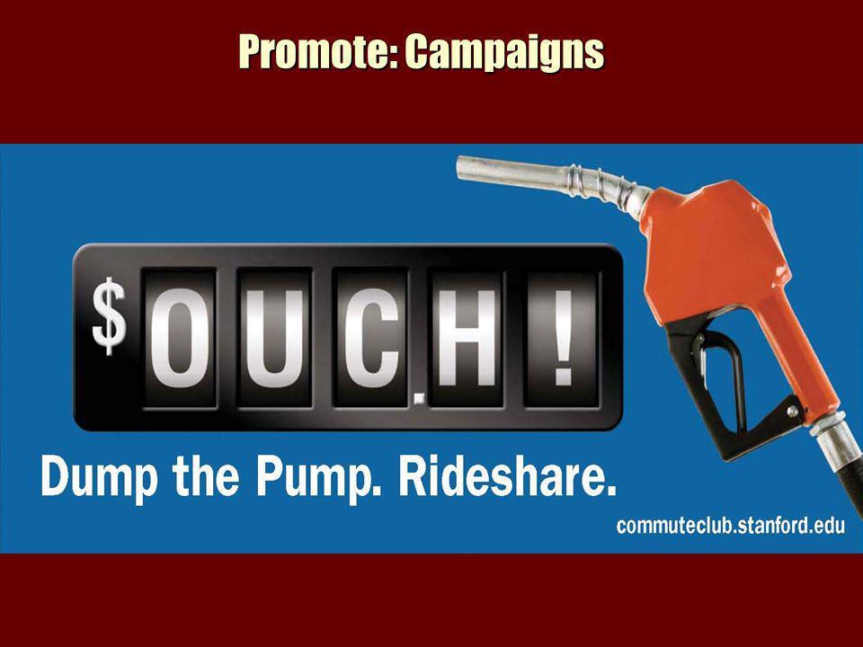 Promote: Campaigns