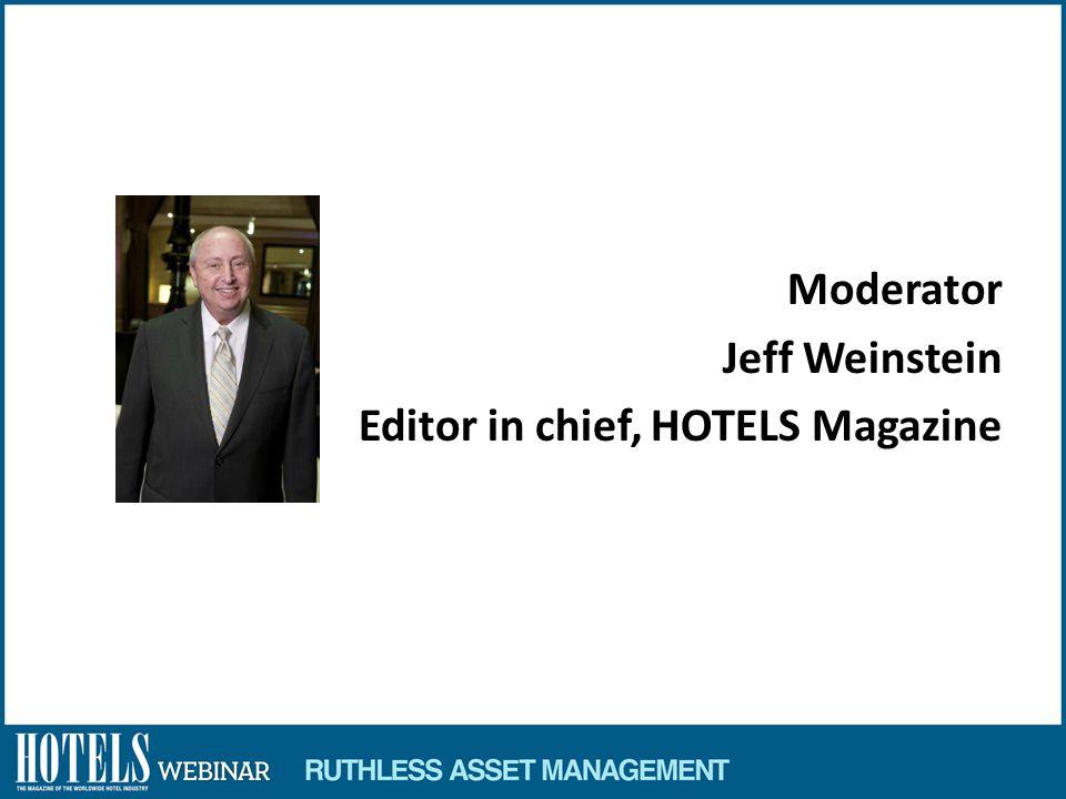 Jon Bortz Founder, Chairman and CEO Pebblebrook Hotel Trust