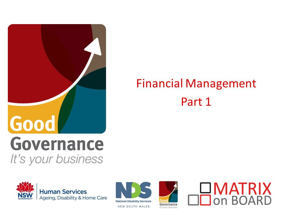 Financial Management Part 1