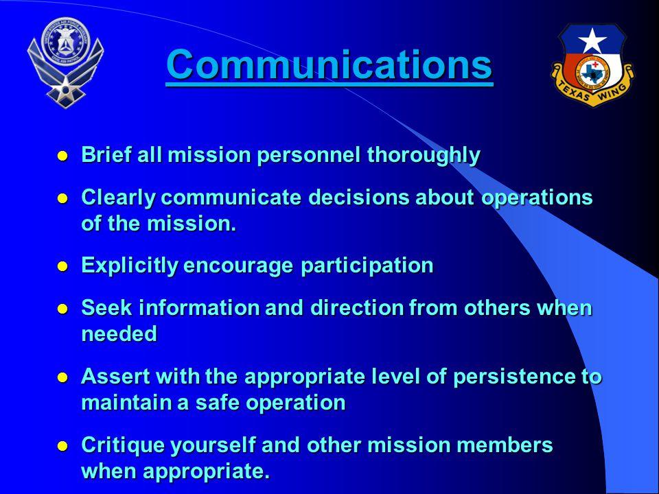 Four Basic Concepts of CRM l COMMUNICATIONS l TEAM BUILDING l WORKLOAD MANAGEMENT l TECHNICAL PROFICIENCY