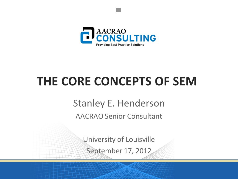 SEM Planning Model 102 Questions & Comments Stanley E. Henderson sehender@umd.umich.edu