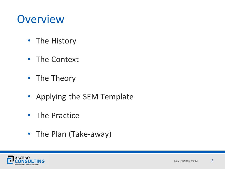 SEM Planning Model 63 Whos Job Is It Anyway.Retention officer, yes, but where does he/she reside.