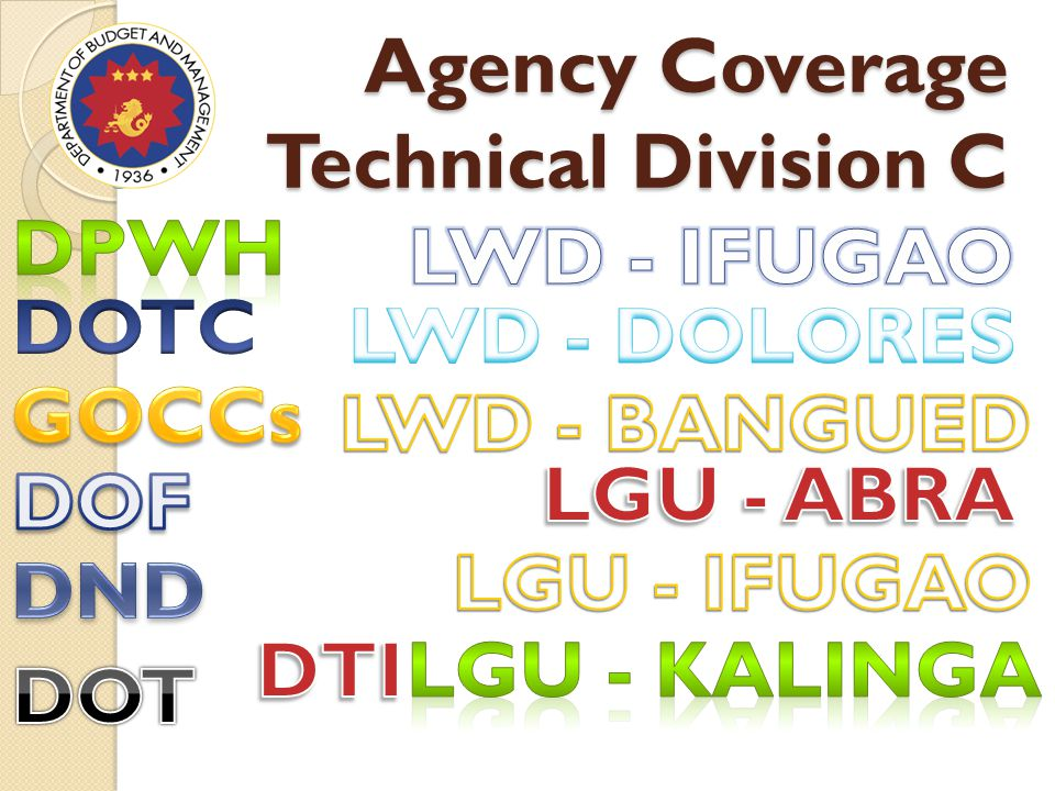 Agency Coverage Technical Division C