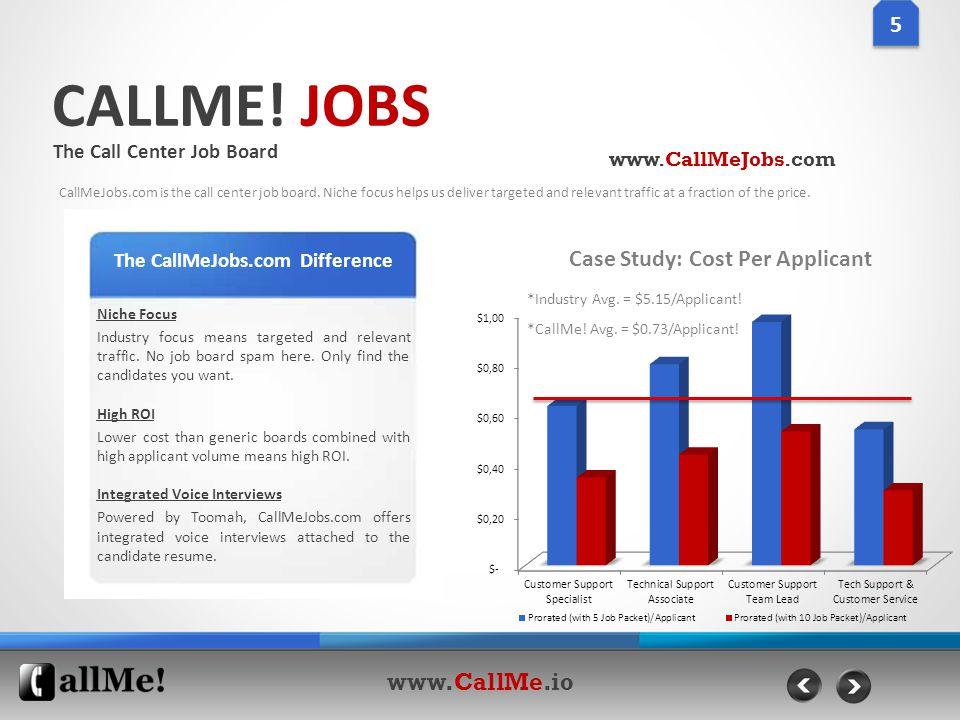 CALLME. JOBS The Call Center Job Board CallMeJobs.com is the call center job board.