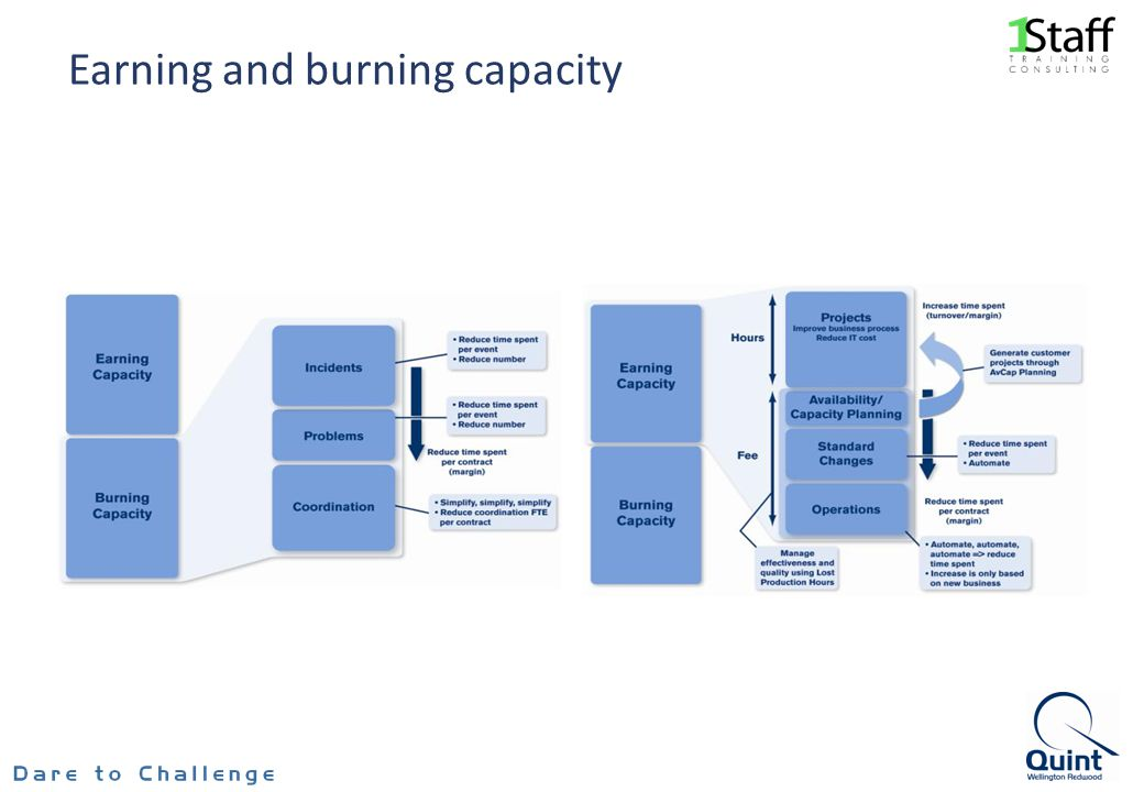 Earning and burning capacity