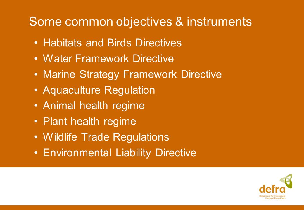 Prevention of intentional introductions Intra-EU movement / keeping IEEP report recommends: Expand use of Wildlife Trade Regulations to cover keeping of IAS Biogeographic framework for IAS listings Harmonised risk-based framework for MS decision-making