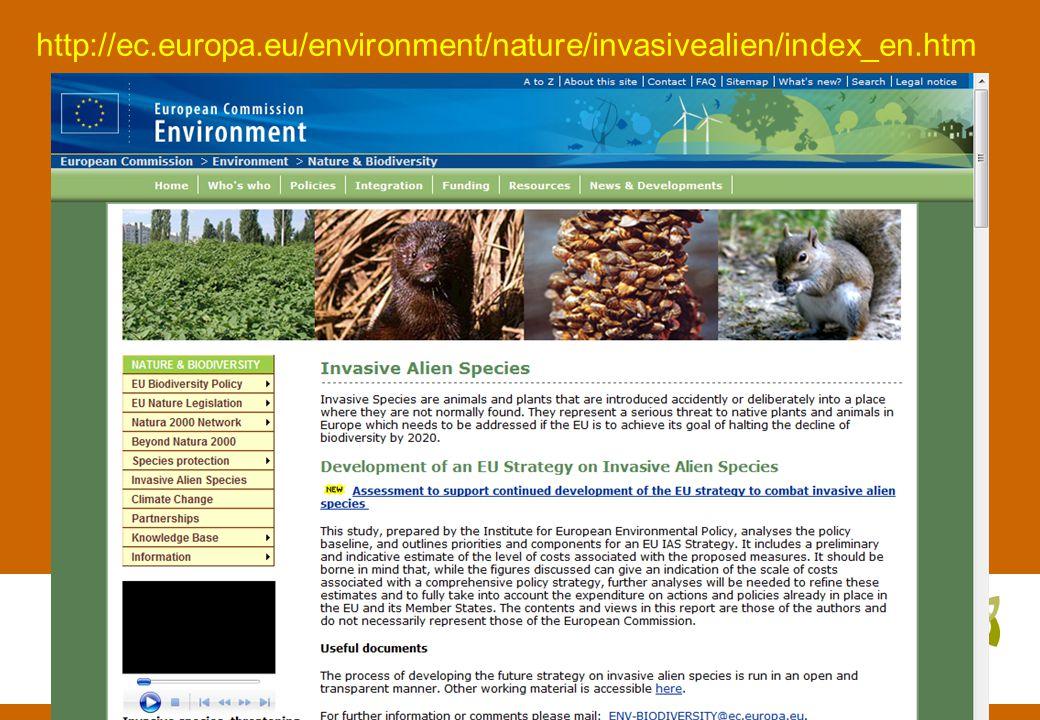 http://ec.europa.eu/environment/nature/invasivealien/index_en.htm