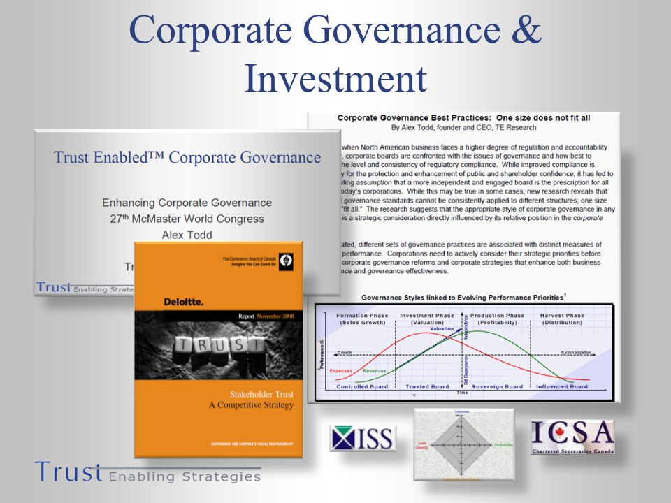 Corporate Governance & Investment