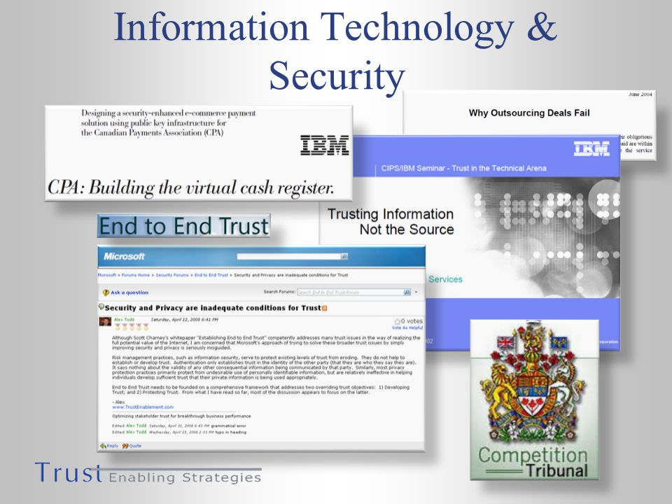 Information Technology & Security
