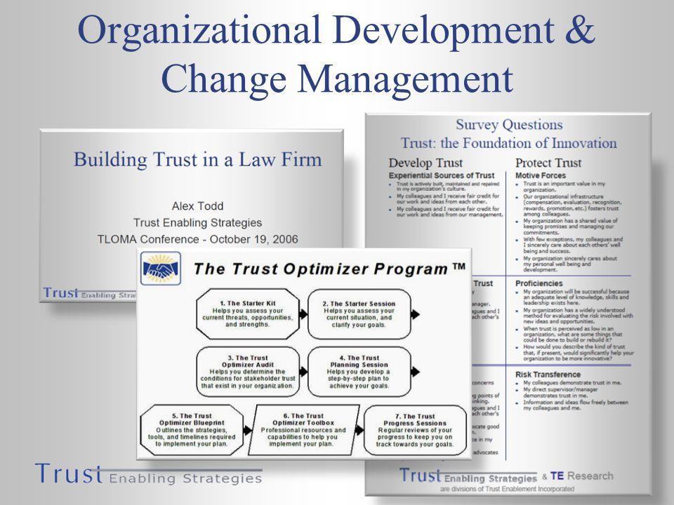 Organizational Development & Change Management