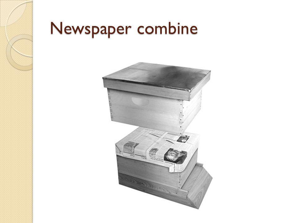 Newspaper combine