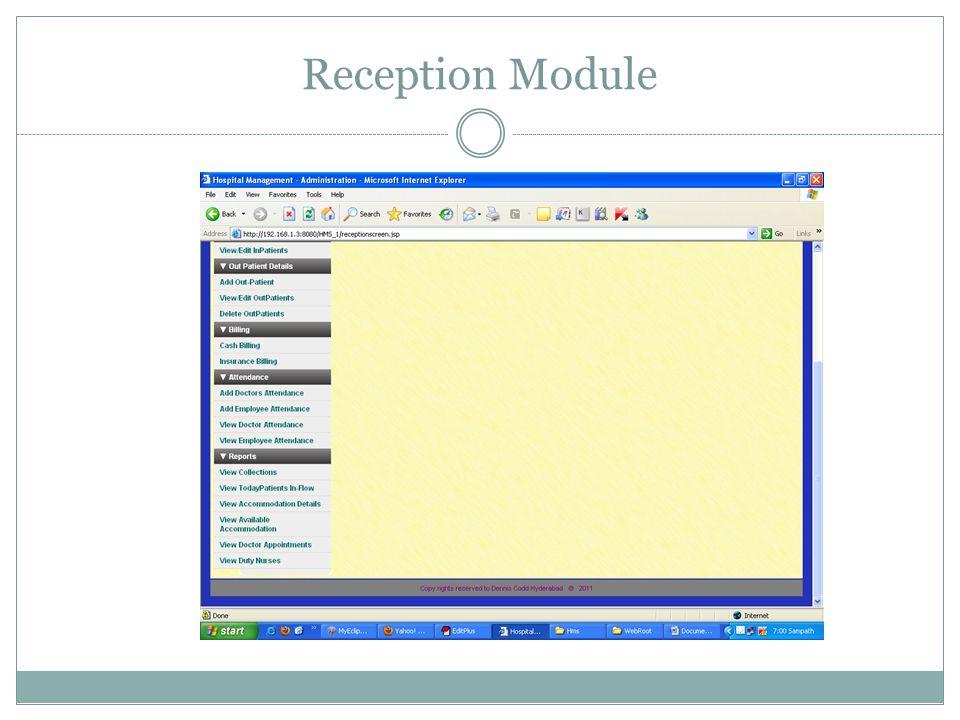 Reception Module
