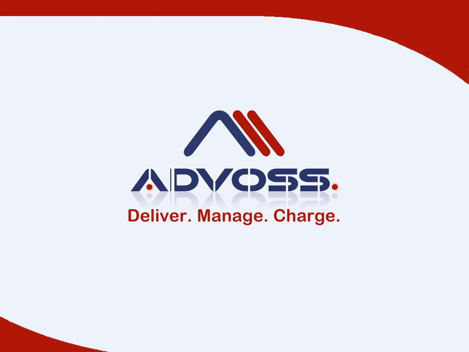 AdvOSS Service Charging Subscription model 0 Services are bundled into service groups: 0 Service group is a collection of related services 0 Service offerings 0 Unit of service that can be subscribed individually e.g.