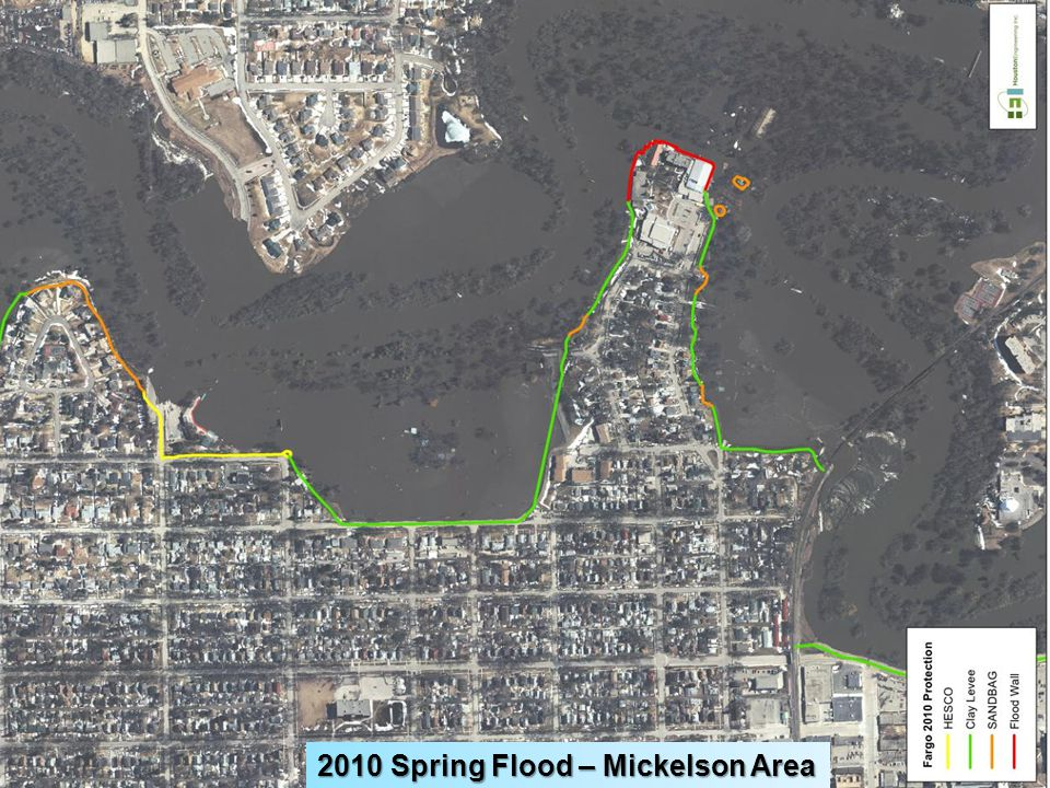 2010 Spring Flood – Mickelson Area