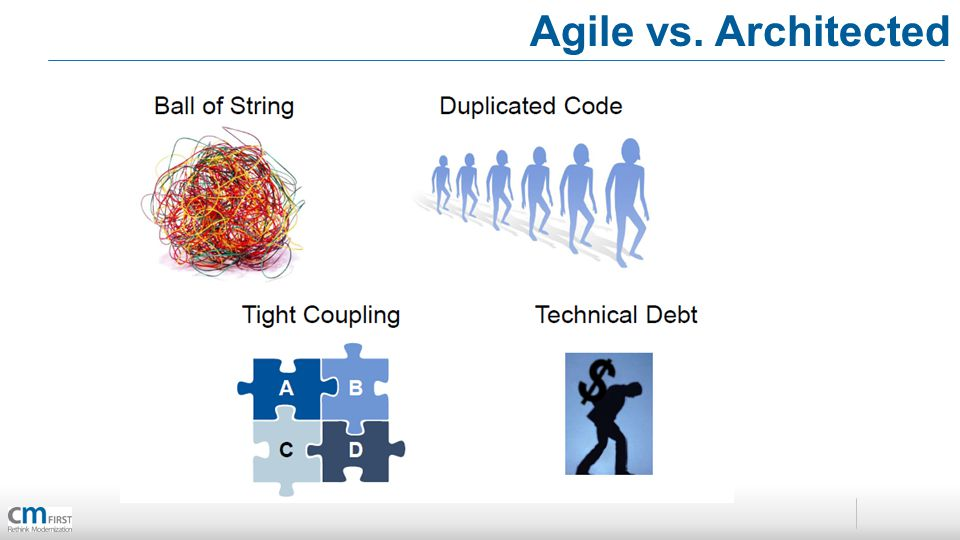 Agile vs. Architected