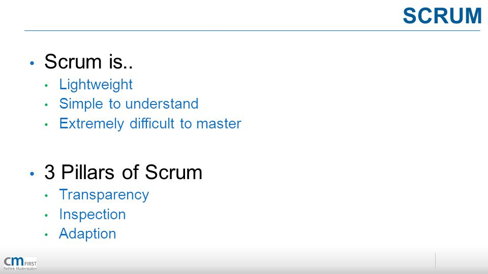 Scrum is..