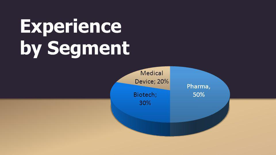 Experience by Segment
