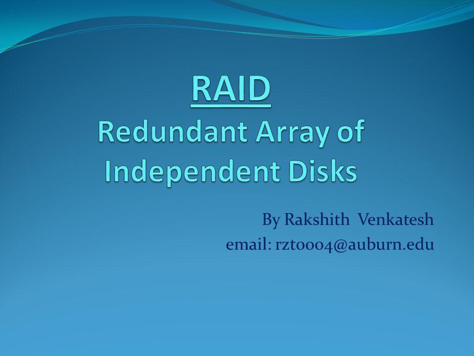 By Rakshith Venkatesh email: rzt0004@auburn.edu