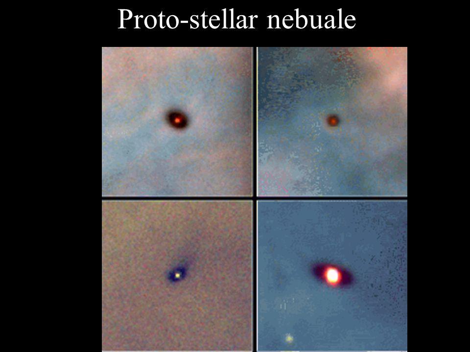 Proto-stellar nebuale