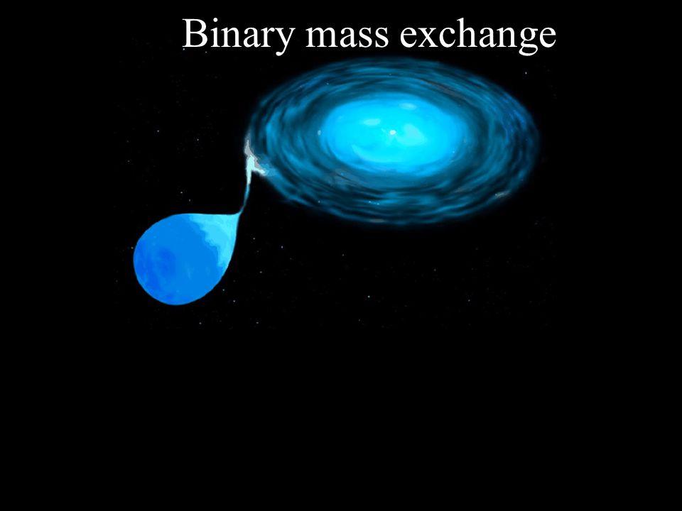 Binary mass exchange