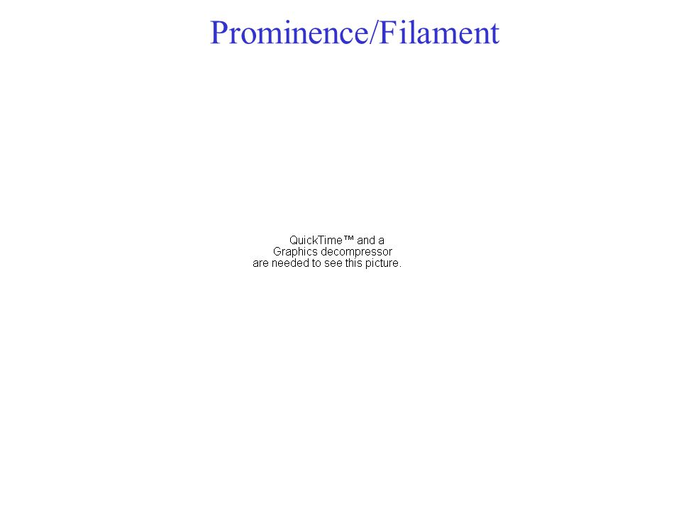 Prominence/Filament