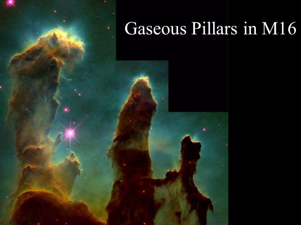 Gaseous Pillars in M16