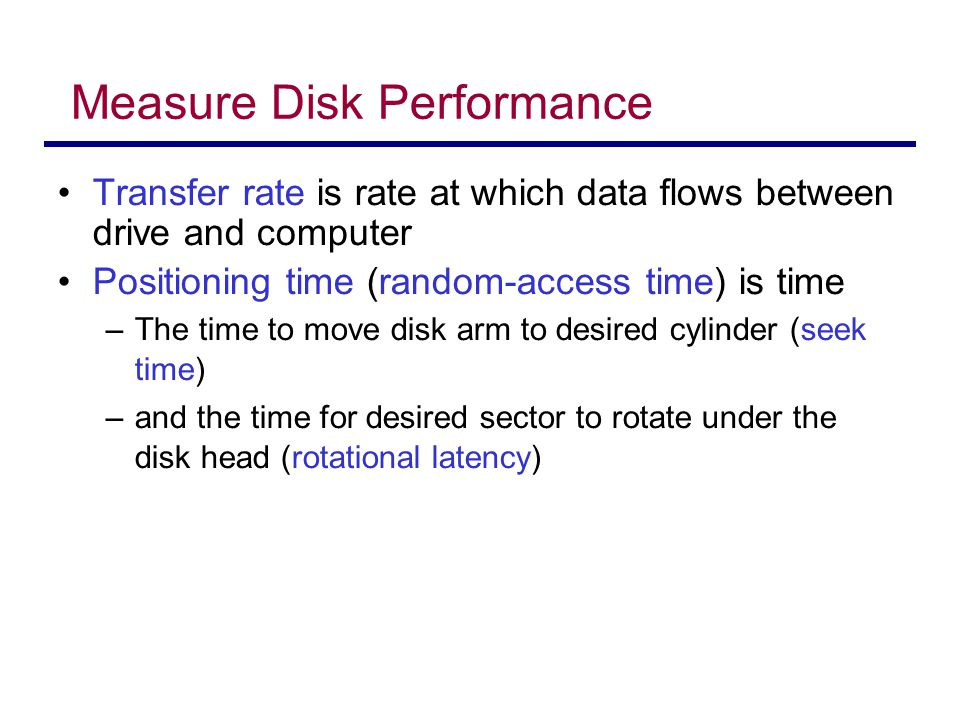 Selecting a Disk-Scheduling Algorithm Which disk scheduling algorithm should we choose.