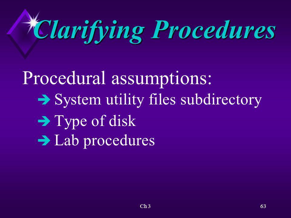 Ch 364 ActivityFormatting a Floppy Disk KEY CONCEPTS: è Function of screen prompt è Internal vs.