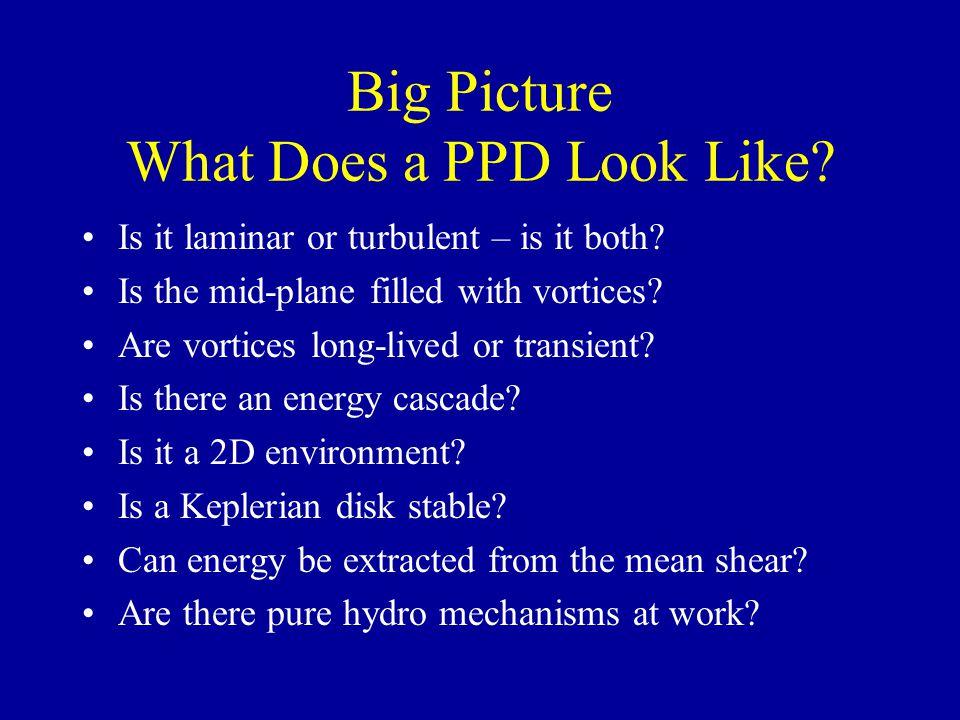3D Vortex in PPD