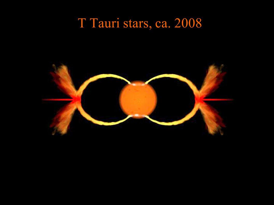 T Tauri stars, ca. 2008