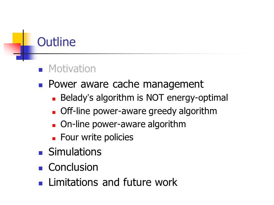 Case Study: PA-LRU Applies to all cache replacement algorithms LRU, 2Q, MQ etc.