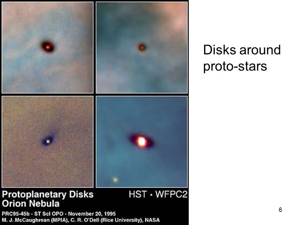 6 Disks around proto-stars