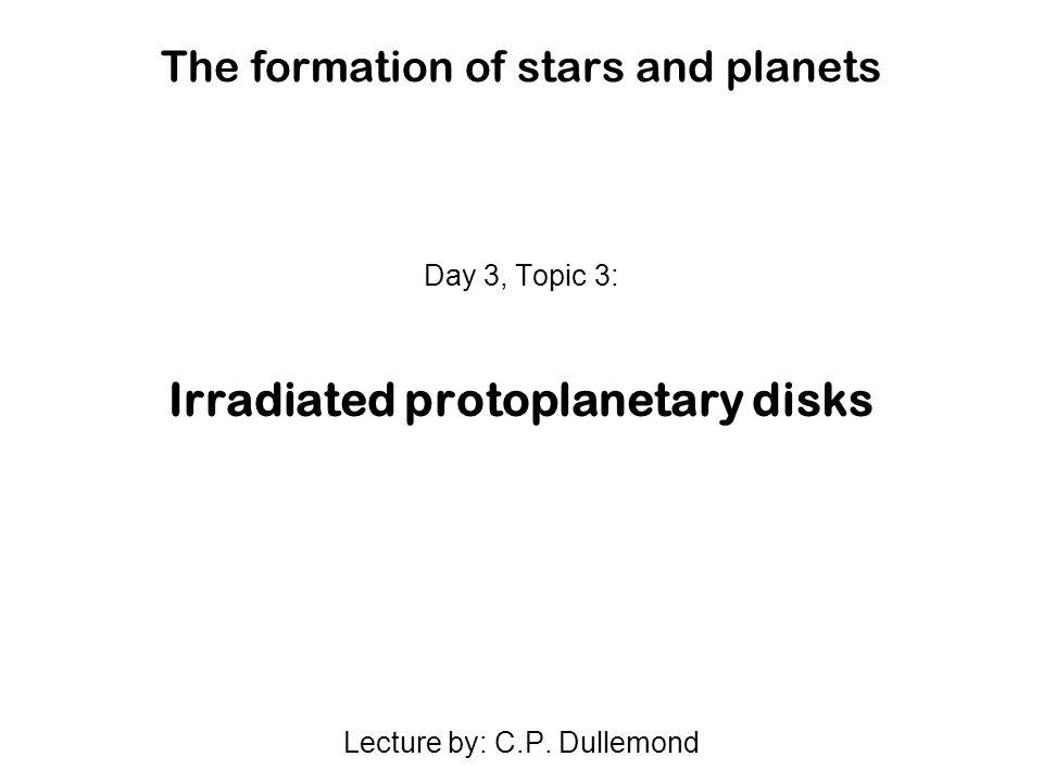 Flared disks: detailed models Malbet & Bertout, 1991, ApJ 383, 814 D Alessio et al.