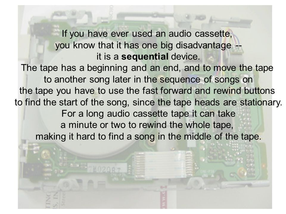 Read/write head assembly