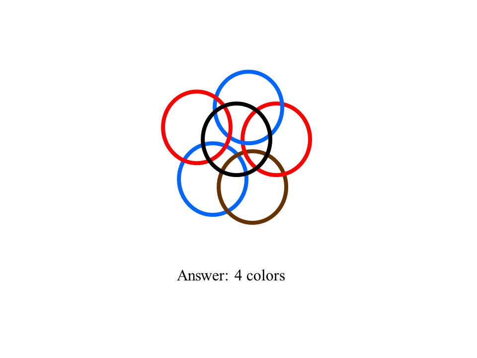 Answer: 4 colors