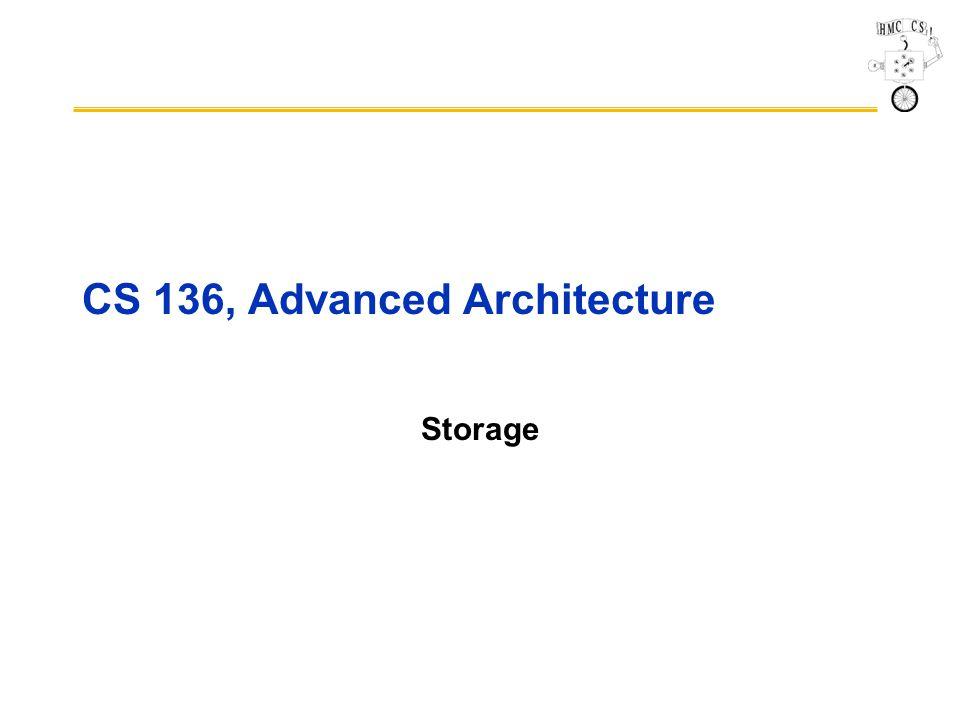 CS 136, Advanced Architecture Storage