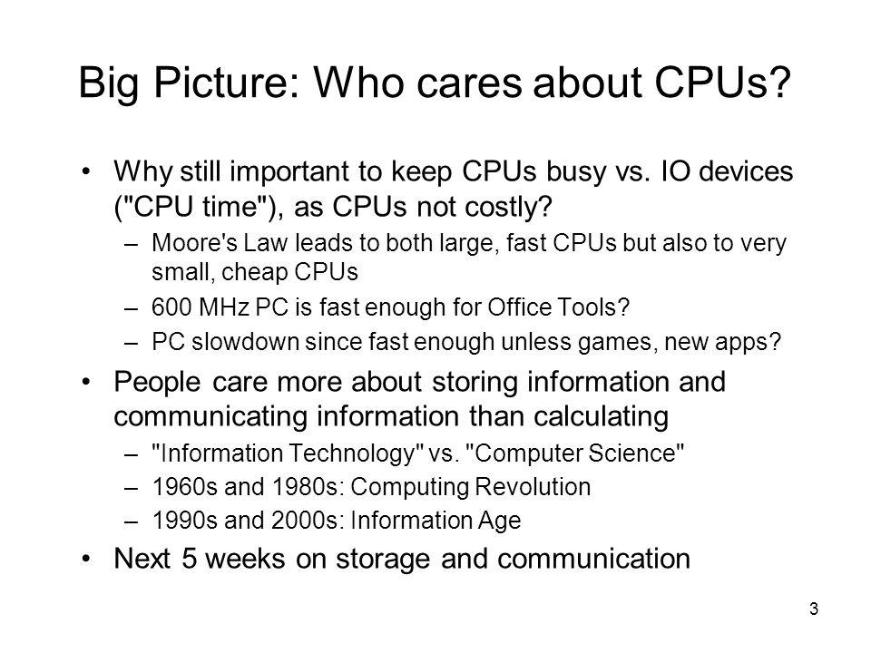 4 I/O Systems Processor Cache Memory - I/O Bus Main Memory I/O Controller Disk I/O Controller I/O Controller Graphics Network interrupts