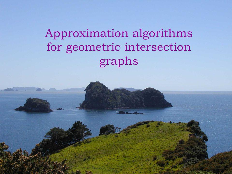 Outline Definitions Problem description Techniques Shifting strategy