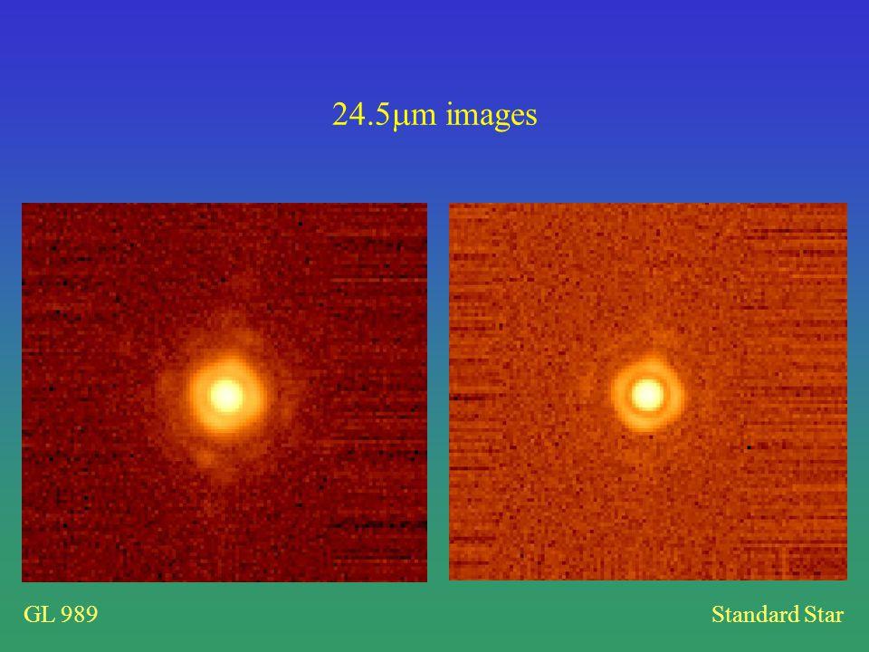 GL 989Standard Star 24.5 m images