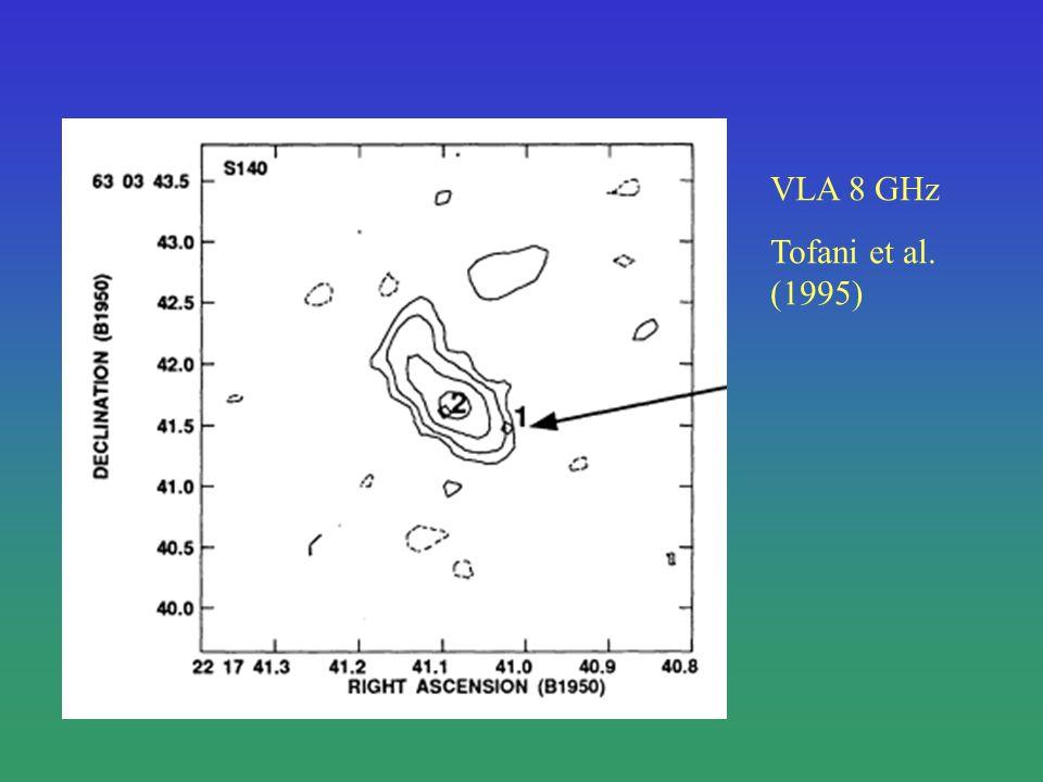 VLA 8 GHz Tofani et al. (1995)