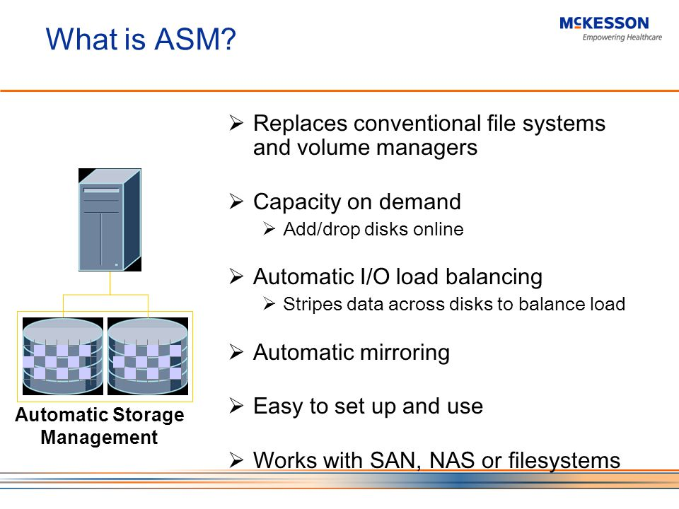What is ASM.