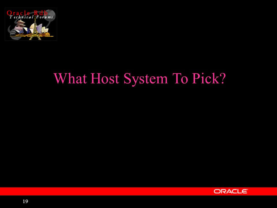 19 What Host System To Pick