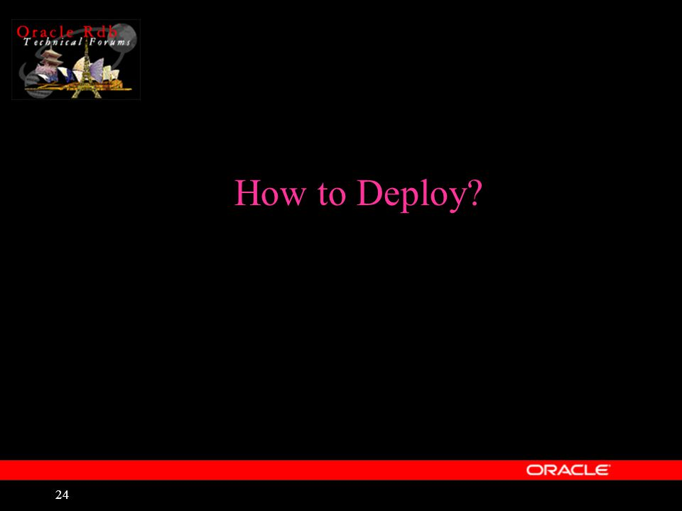 24 How to Deploy