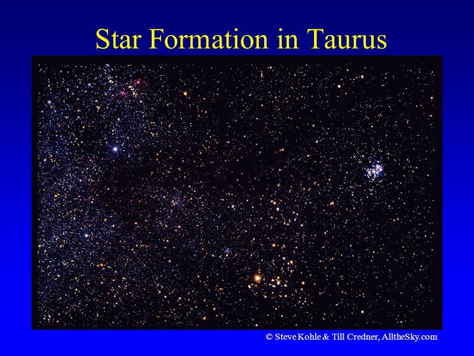 Star Formation in Taurus © Steve Kohle & Till Credner, AlltheSky.com