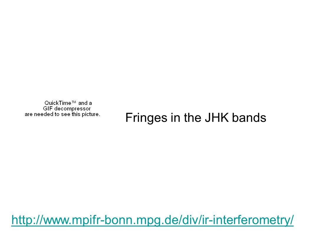http://www.mpifr-bonn.mpg.de/div/ir-interferometry/ Fringes in the JHK bands