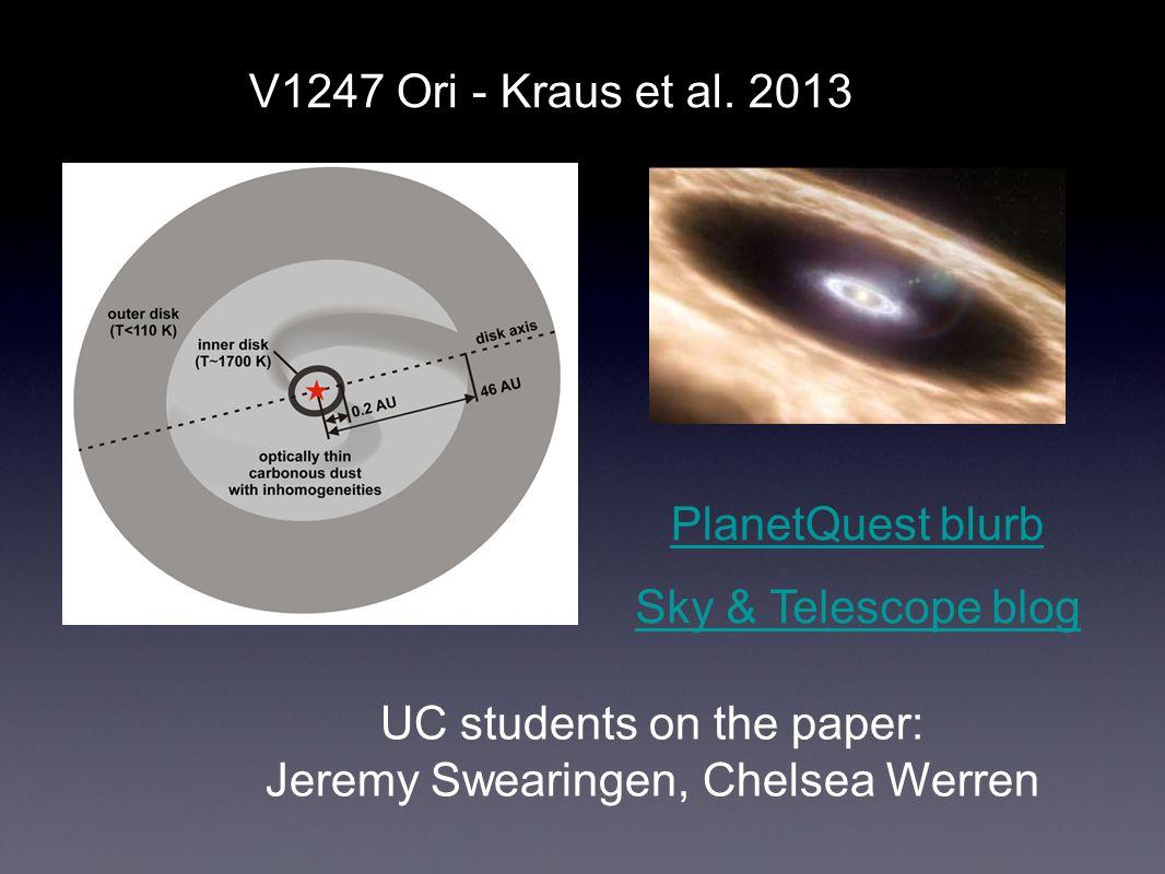 V1247 Ori - Kraus et al.
