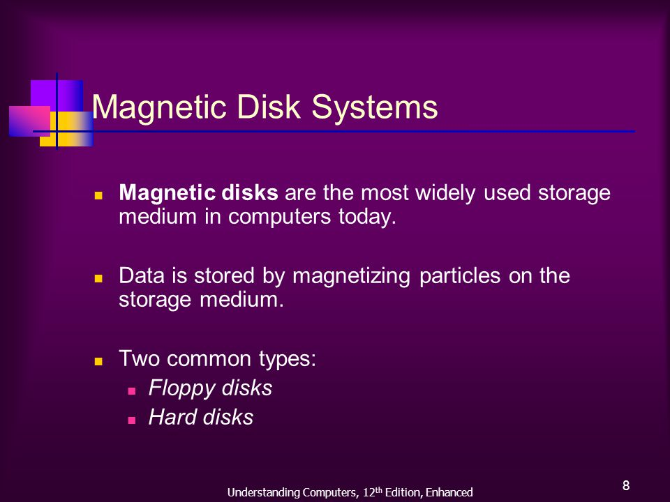 Understanding Computers, 12 th Edition, Enhanced 19 Hard Disk Drives, Contd.