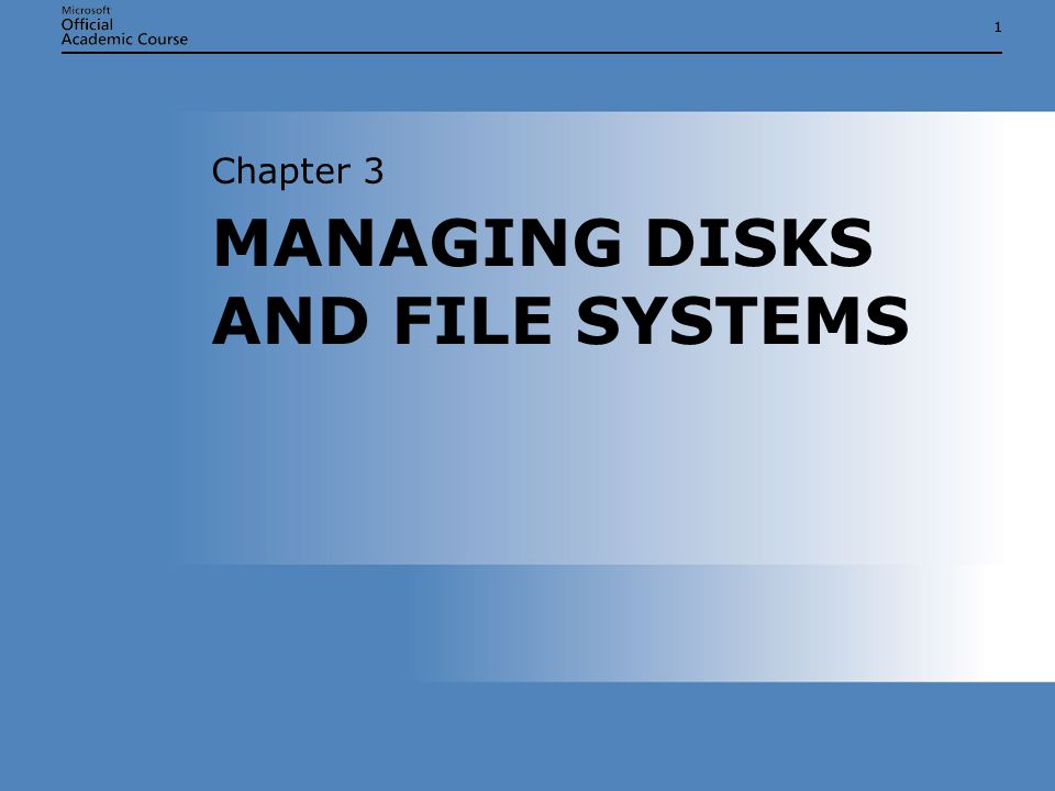 Chapter 3: Managing Disks and File Systems12 COMPRESSED FOLDERS Compatible with Zip compression programs Can be stored on FAT volumes and removable media Can be e-mailed Compatible with Zip compression programs Can be stored on FAT volumes and removable media Can be e-mailed