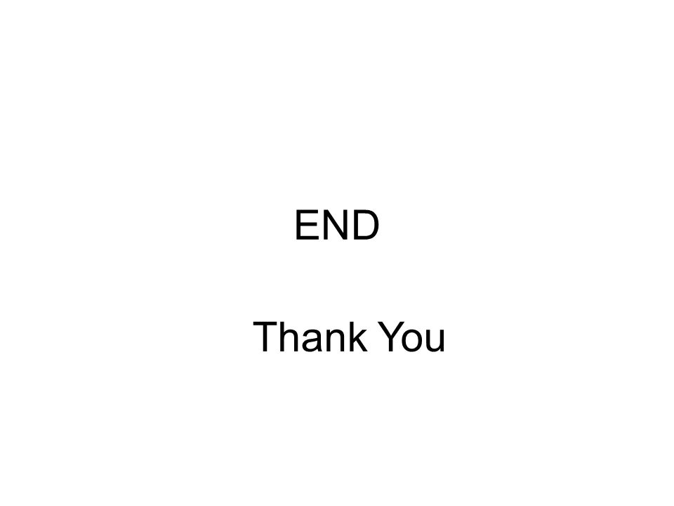 END Thank You